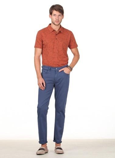 Kip Kip Regular Fit Düz İndigo Pantolon İndigo